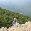 Blue Ridge Birthday - Ravens Roost, Greenstone Overlook &amp; Humpback Rocks Visitor Center : Donna's 60th Birthday with Randal and Ben  9-3-10