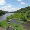 Lookout From Bridge Over James River - Lynchburg, VA
