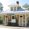 Orange, VA - Montpelier Train Depot : Before and after photos of restored depot.