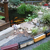 Palmyra, VA - Lake Monticello Railroad Garden and Pond : Backyard Hobby at Lake Monticello, VA - August 2007